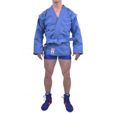 "Куртка для самбо ""Атака"" синяя"
