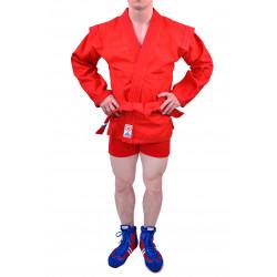 """Куртка самбо для подростков """"Атака"""" красная"""